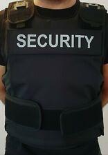 More details for stab vest-security guard-doorman vest m-l-xl-2xl(eu tested hosdb)kr1-sp1