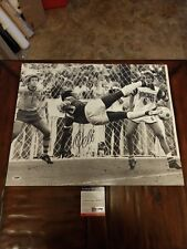 """""""THE GREAT PELE""""SIGNED LARGE 16X20"""" POSTER PHOTO W/""""PSA/DNA COA & HOLOGRAM"""""""