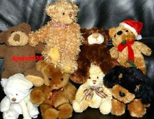 LOT OURS EN PELUCHE TEDDY BEAR + PETIT CHIEN