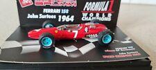 BRUMM F1 FERRARI 158 JOHN SURTEES 1964 F1 WORLD CHAMPIONS 1:43 SCALE S052