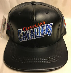 Cleveland Cavaliers Leather Hat.