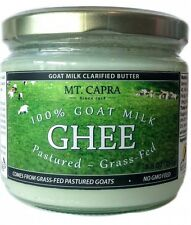 100% GOAT MILK GHEE-PASTURED-GRASS FED FROM MT.CAPRA PRODUCTS-8.8 oz.