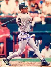 Derek Jeter-Yankees Captain Autographed 8x10 Photo W/COA-PINSTRIPE POWER!