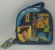 Disney Toy Story Woody and Buzz Lightyear Back To School Small Kit and Carrying