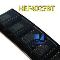 5PCS HEF4027BT Dual JK flip-flop SOP16 new