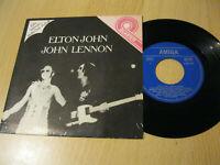"7"" Single Elton John Band John Lennon Vinyl AMIGA QUARTETT 5 56 019"