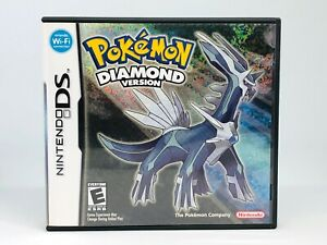 POKEMON DIAMOND FOIL COVER - NINTENDO DS **EXCELLENT CONDITION**