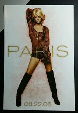 PARIS HILTON STARS ARE BLIND PHOTO MUSIC 4X6 POSTCARD SM POSTER