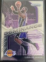Lebron James 2020-21 Panini Prizm Basketball Dominance Base #17 Lakers 🔥🔥