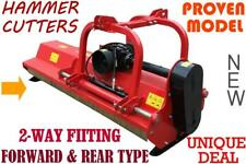 TRACTOR Flail Mower 2140mm, 410kg, 3 point linkage + FREE PTO & Clutch