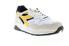 Diadora N9002 Beta 175498-C8224 Mens White Suede Lace Up Low Top Sneakers Shoes