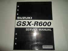 2005 Suzuki GSX-R600 Service Repair Shop Workshop Manual Brand New