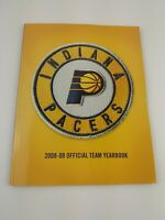 Indiana Pacers 2008-2009 Yearbook SIGNED by Bird Baston Diener Ford Foster Rush