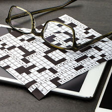 Crossword Puzzle Microfiber Eyeglasses Lens Tablet Smartphone Cleaning Cloth