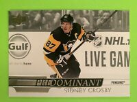 2020-2021 Upper Deck Predominant #PR-8 Sidney CROSBY Penguins Insert SP