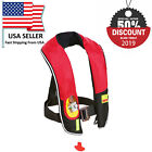Black Firday M-33 In-Sight Manual Inflatable Life Jacke vest PFD Fishing Boating