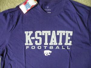 NCAA K-STATE KANSAS FOOTBALL SHIRT/Fanatics/2XL/New - Tags