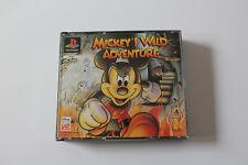 PS1 Playstation 1 Spiel Mickeys Wild Adventure + Musik CD