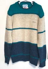 Vintage IZOD Lacoste Crewneck Alligator Wool Sweater Boys Youth Size 14 Rare GUC