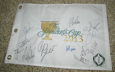 2013 Presidents Cup Flag United States Signed By 10 Mickelson, Spieth, +8