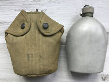 Original Ww1 Canteen With Eagle Snaps Case