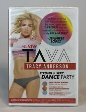 TAVA Strong and Sexy Dance Party DVD Tracy Anderson New
