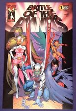 BATTLE OF THE PLANETS 1 August 2002 9.2-9.4 NM-/NM TOP COW IMAGE Silvestri cover