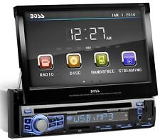 NEW Car Audio CD Head Unit.Amplifier Receiver.1 Din.Radio.FM.AM.Tuner.Touchscr.