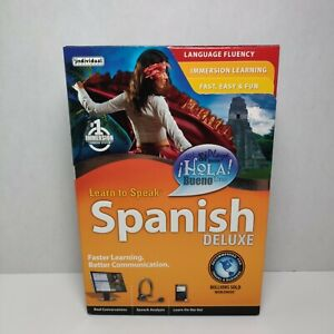 Learn to Speak Spanish Deluxe DVD + CDs
