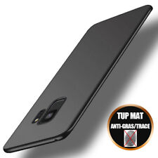 Coque Protection Silicone Mat Samsung Galaxy S9/S8/Plus/S10/A8/A7/A6/J6/J4 Plus