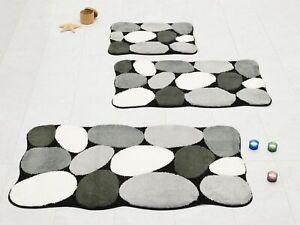 Badteppich Badvorleger Duschvorleger Badematte Kleine Wolke Stone B-Ware