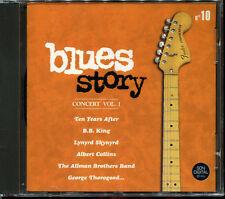 BLUES STORY - N°10 CONCERT VOL.1 - CD COMPILATION NEUF ET SOUS CELLO