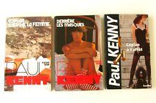 Lot de 3 poches de KENNY-Espionnage - Coplan a L'Affût --F Noir- 173 - K81  K107