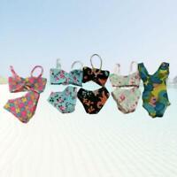 Handmade1Set Swimsuits Beach Bikini Bathing Swimwear For Dolls Outfits : J5W0