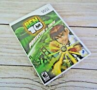 Ben 10 Protector of Earth (Nintendo Wii) Tested & Complete