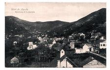 CARTOLINA SALUTI DA  AGEROLA - PANORAMA DI S. LAZZARO - VG 1923