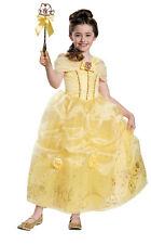 Belle Prestige Costume Enfant Belle et la Bête Princesse Disney Robe