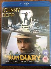 Johnny Depp Amber Heard RUM DIARY ~ 2011 Hunter S Thompson Comedy UK Blu-ray