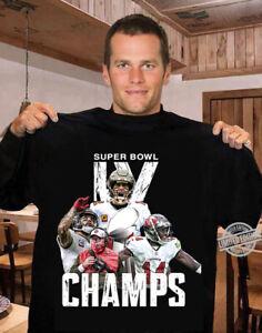 Tampa Bay Buccaneers Tom Brady Ch*mpions Super Bowl 2021 T-shirt Champ sport Tee