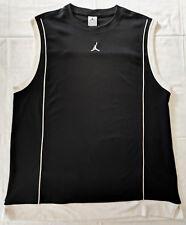 Canotta basket Jordan, Jumpman, nera, taglia XL