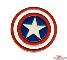 Classic Captain America Shield unisex Metal Steel Diecast Superhero Belt Buckle