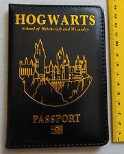 """Harry Potter: Schwarzes Ausweismäppchen mit """"Hogwarts"""" Aufdruck *neu*"""