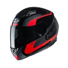 NEW HJC Helm CS-15 Dosta schwarz rot grau Gr. M = 57/58 Motorradhelm MC1 NEU