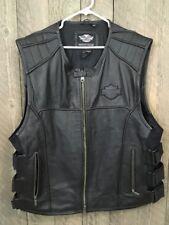 Harley-Davidson men's Swat ll leather vest 2XL