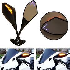 Negro Retrovisores moto Manillar Laterales Espejo para CBR GSXR CBR250R CBR300R GSXR600