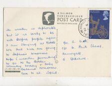 Holy Island Berwick On Tweed 1978 Single Ring Postmark 482b