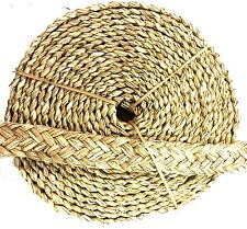 20ft Seagrass Braided Rope Bird Toy Parrot Shreddable Craft Part Natural Cage