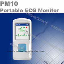 Portatile macchina ECG ECG con USB, Heart Beat Monitor, Bluetooth, LCD,CONTEC,CE