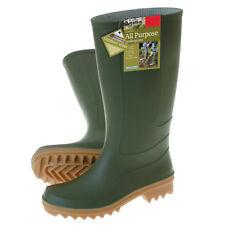 Gardman UK Size 6 1/2 / 40 Classic Full Length Wellington Boots Wellies - Green