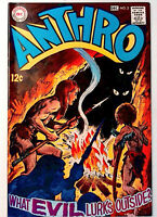 Anthro #3 DC 1968 VF+ Silver Age Comic Book 1st Print